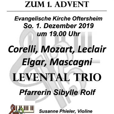 Geistliche Abendmusik am 1. Advent